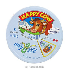 Happy Cow Cheese Low Fat Round Box (140g) at Kapruka Online
