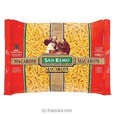 San Remo MACARONI No. 38 (500G) By San Remo at Kapruka Online for specialGifts