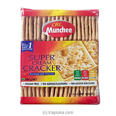Munchee Super Cream Cracker 490g at Kapruka Online