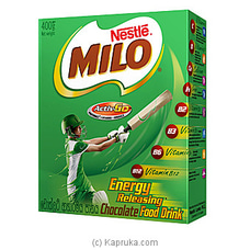 Milo Active-Go Chocolate Food Drink 400g at Kapruka Online