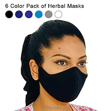 Herbal Masks - 6 Color Pack at Kapruka Online
