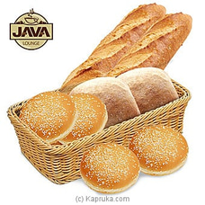Java Lounge Fresh Bread Basket - Made Fresh Every Morning By Java at Kapruka Online for specialGifts