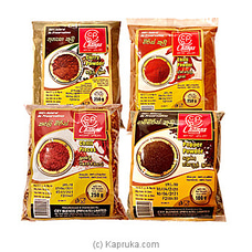 Spices Pack - Chilli - Curry - Pepper By Champs at Kapruka Online for specialGifts