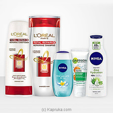LOreal and Nivea Shower Essentials Premium Set By Morison at Kapruka Online for specialGifts