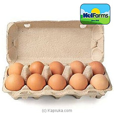 NelFarms Pack Of 10 Farm Fresh Eggs By Nelfarms at Kapruka Online for specialGifts