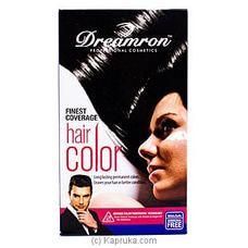 Finest Coverage Permenant Hair Color Cream by Dreamron- 60ml By Dreamron at Kapruka Online forspecialGifts