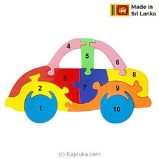 Color Counting Car Puzzle at Kapruka Online