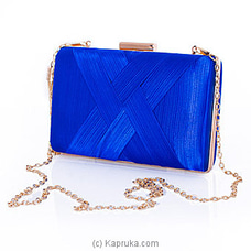 Clutch- Elegant Blue Ladies Clutch By NA at Kapruka Online for specialGifts