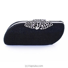 Clutch- Black Evening Fashion Ladies Clutch By NA at Kapruka Online for specialGifts