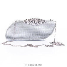 Silver Evening Clutch For Ladies By NA at Kapruka Online for specialGifts