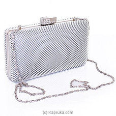 Clutch- Exclusive Silver Evening Ladies Clutch By NA at Kapruka Online for specialGifts