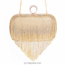 Clutch- Classy Golden Ladies Clutch By NA at Kapruka Online for specialGifts