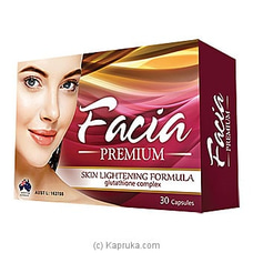 Facia Premium Capsules ( Advanced Glutathione Complex)   - 30 Capsules By Facia at Kapruka Online for specialGifts