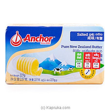 Anchor Salted Butter- 227g By Anchor at Kapruka Online for specialGifts