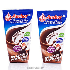 Anchor Newdale Chocolate Flavoured Milk- 180ml (2 Pack) at Kapruka Online