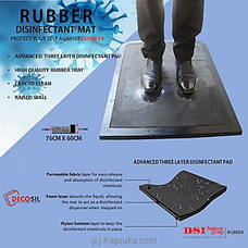 DECOSIL RUBBER Disinfectant Mat By Decosil at Kapruka Online for specialGifts