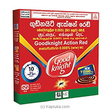 Goodknight Action Green 10 Hour mosquito Coil at Kapruka Online