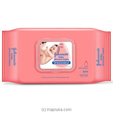 Johnson`s Baby Skincare Wipes- 80N By Johnsons at Kapruka Online for specialGifts