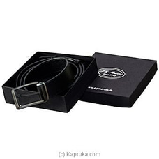 P.G. Martin Leather Belt Box -  Black PG47 By P.G MARTIN at Kapruka Online forspecialGifts