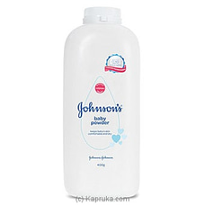 Johnson`s Baby Powder 400g By Johnsons at Kapruka Online for specialGifts