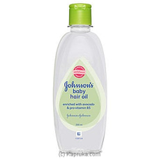 Johnson`s Avocado Hair Oil 200ml By Johnsons at Kapruka Online for specialGifts
