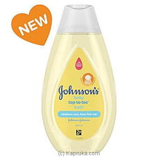 Johnson`s Baby Tip-to-toe Bath 200ml at Kapruka Online