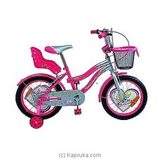 Tomahawk Barbie Kids Bicycle - Hot Pink - 20` By TOMAHAWK at Kapruka Online for specialGifts