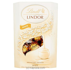 Lindt Lindor White Irresistibly Smooth- 200g By Lindt at Kapruka Online for specialGifts