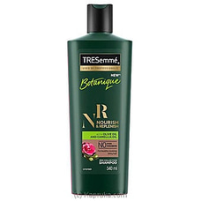 TREsemme Botanique Nourish And Replenishment Shampoo 340ml at Kapruka Online