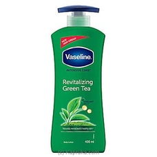 Vaseline Revitalizing Green Tea Body Lotion- 400ml By Vaseline at Kapruka Online for specialGifts