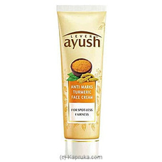 Ayush Anti Marks Turmeric Face Cream 50g By Ayush at Kapruka Online for specialGifts
