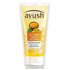 Ayush Anti Pimple Turmeric Face Wash 80g By Ayush at Kapruka Online forspecialGifts
