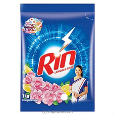 Rin Lemon And Rose Detergent Powder- 1 KG By Unilever at Kapruka Online for specialGifts