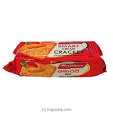Maliban Cream Cracker Pack - 190g By Maliban at Kapruka Online for specialGifts