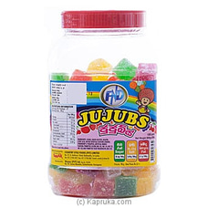 FND Jujubes Bottle- 100 Pieces By Smak at Kapruka Online forspecialGifts