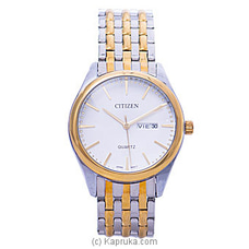 Citizen Gent`s Gold And Silver Watch By Citizen at Kapruka Online forspecialGifts