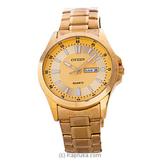 Citizen Gent`s Gold Watch By Citizen at Kapruka Online forspecialGifts