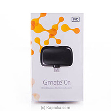 Gmate Blood Glucose Monitoring System - (VID18) By Gmate at Kapruka Online for specialGifts