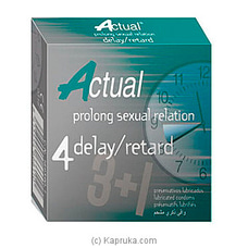 Actual 4u Delay / Retard - (vid18) By Actual at Kapruka Online for specialGifts