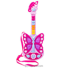 Kid`s Butterfly Guitar By Brightmind at Kapruka Online for specialGifts