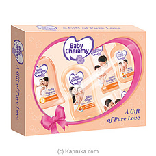 Baby Cheramy Gift Pack - Pink By Baby Cheramy at Kapruka Online for specialGifts