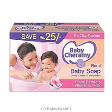 Baby Cheramy Floral Soap Eco Pack 375g at Kapruka Online