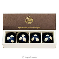 Java Blueberry Truffle 4 Piece Chocolates By Java at Kapruka Online for specialGifts