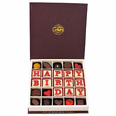 Java Happy B`day 25 Piece Chocolatesat Kapruka Online for specialGifts