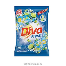 Diva Detergent Powder Aqua, Lime & Lemon 1kg at Kapruka Online