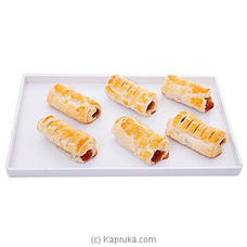Divine Sausage Pastry 6 Piece Pack By Divine at Kapruka Online for specialGifts