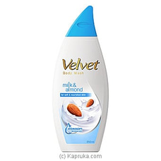 Velvet Body Wash Milk & Almond 250ml at Kapruka Online