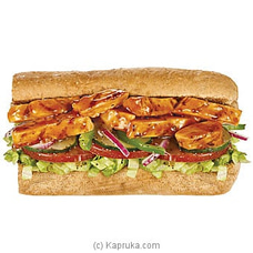 6` Chicken Teriyaki Toasted Bread with Cheese Sub By Subway at Kapruka Online for specialGifts