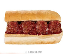 6` Meatball Marinara Toasted Bread with Cheese Sub By Subway at Kapruka Online for specialGifts