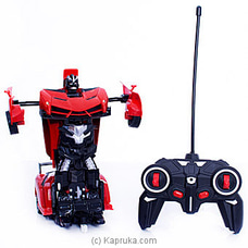 Kid`s Radio Controlled Robot Deformation Car By Brightmind at Kapruka Online for specialGifts